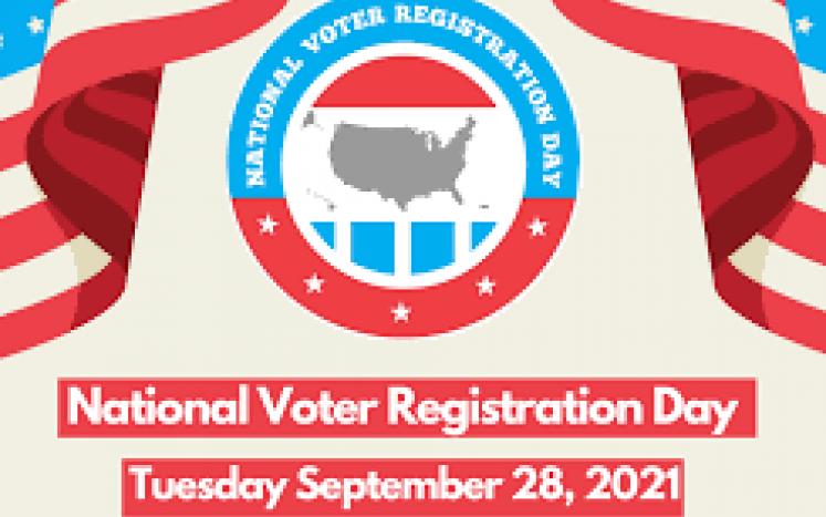 National Voter Registration Day 9-28-2021
