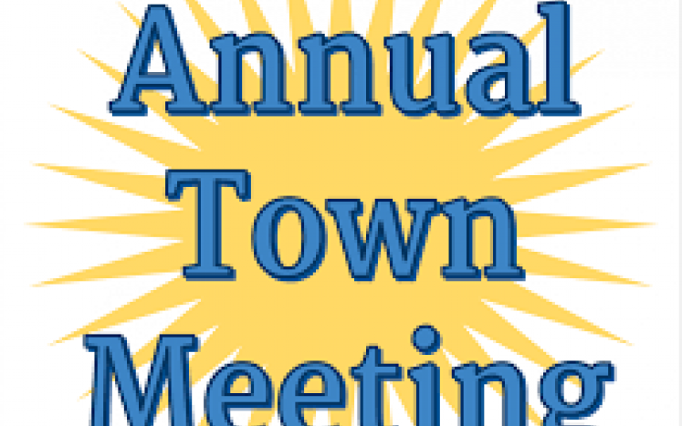 Annual Town Meeting Scheduled for July 25, 2020 at 9:00 am